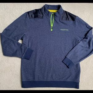 VINEYARD VINES men's zip pull over sweatshirt L